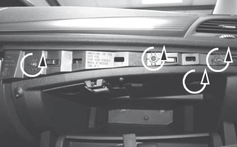Замена фильтра Renault Fluence
