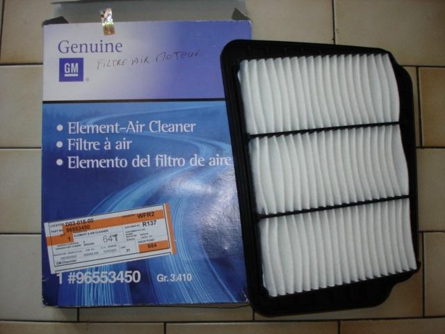 Daewoo Gentra фильтр воздушный