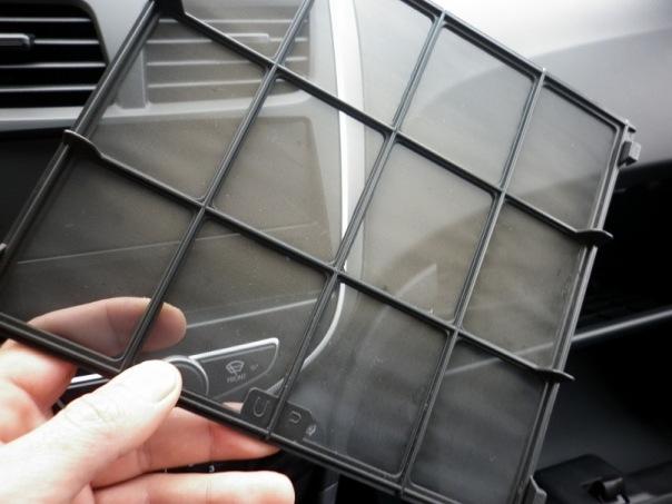 Сетка салонного фильтра солярис