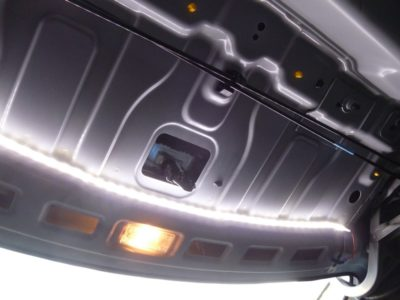 плафон подсветки багажника на Солярисе