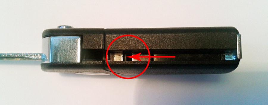 выкидной ключ мазда 6