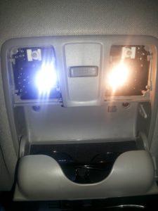 замена ламп на светодиодные