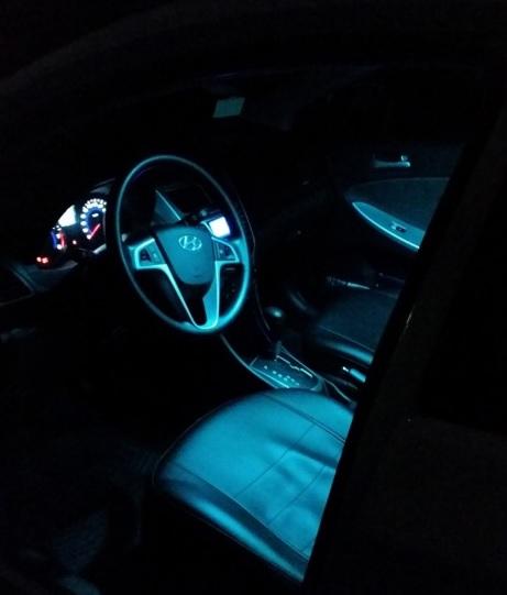 Светодиодные лампы подсветки салона
