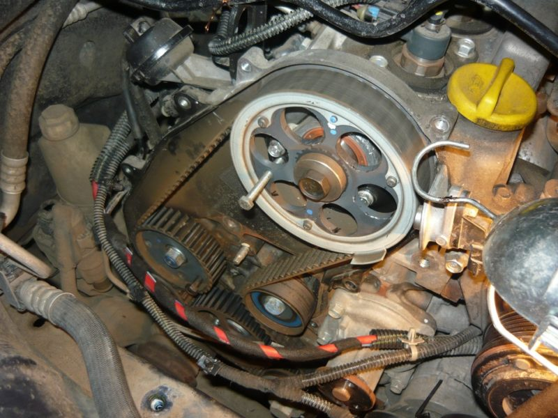 замена ремня грм Opel Astra J