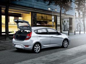 Hyundai Solaris как снять обшивку