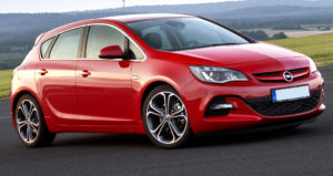 Opel Astra J замена свечей