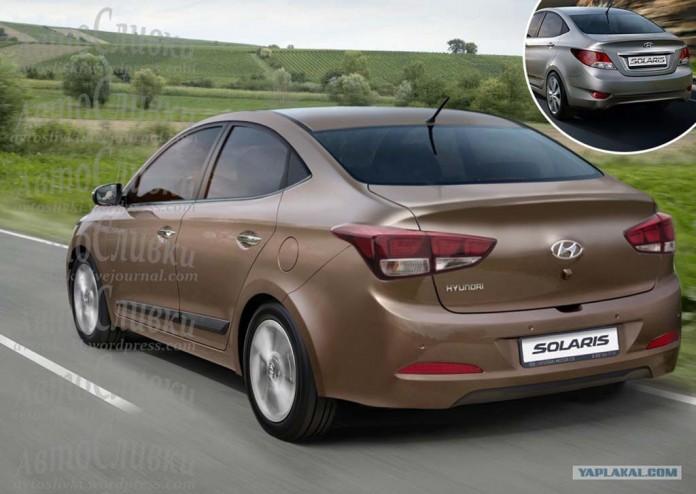 Hyundai Verna (Solaris) нового поколения