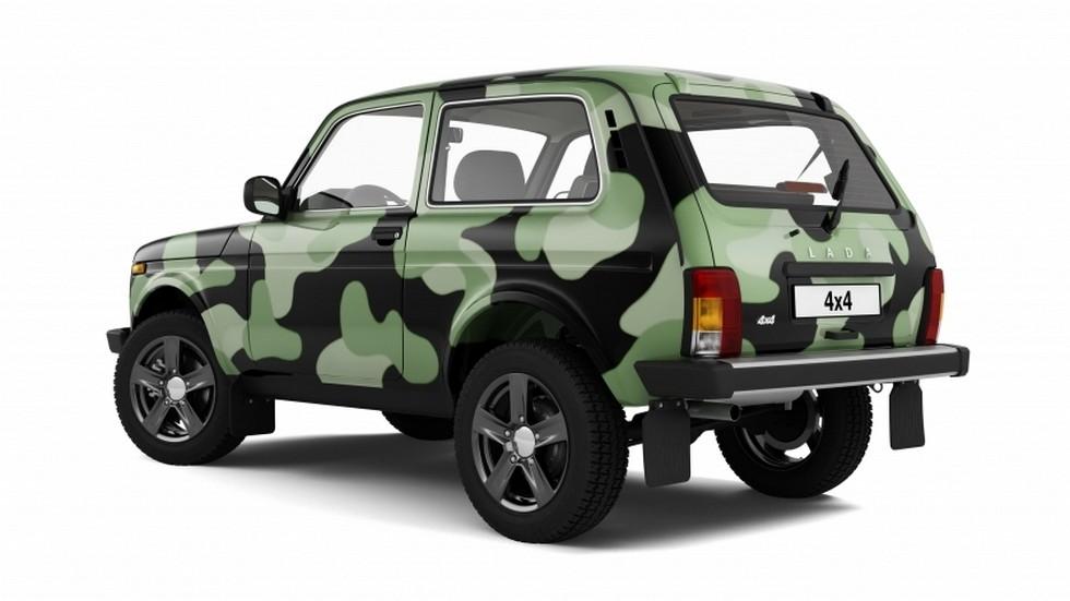 Lada 4×4 камуфляж Luxe